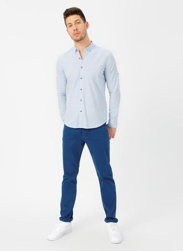 Twister Gömlek Mavi